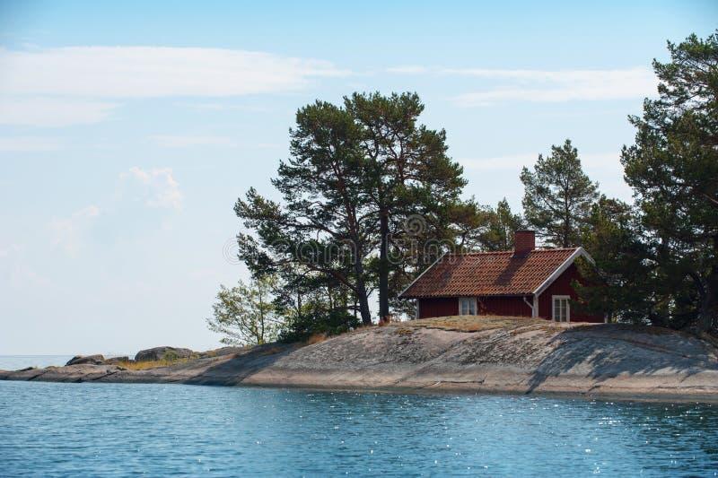 Θερινό εξοχικό σπίτι στοκ φωτογραφία