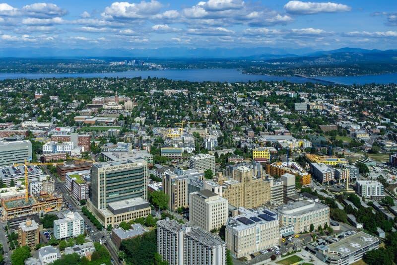 Ιατρικό κέντρο Harborview στοκ φωτογραφίες