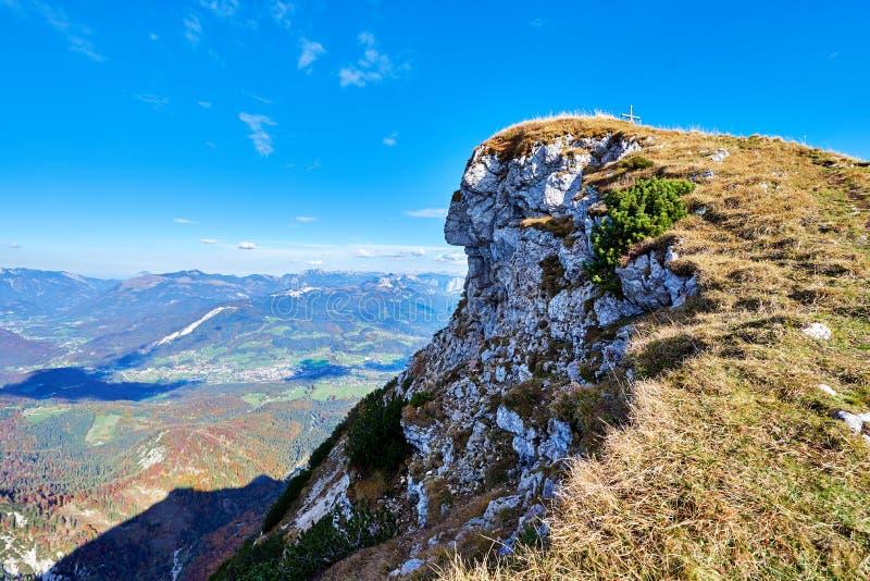 """Ινδικό κεφάλι ή """"Indianerkopf """"πάνω από το βουνό Kalmberg στοκ φωτογραφία με δικαίωμα ελεύθερης χρήσης"""