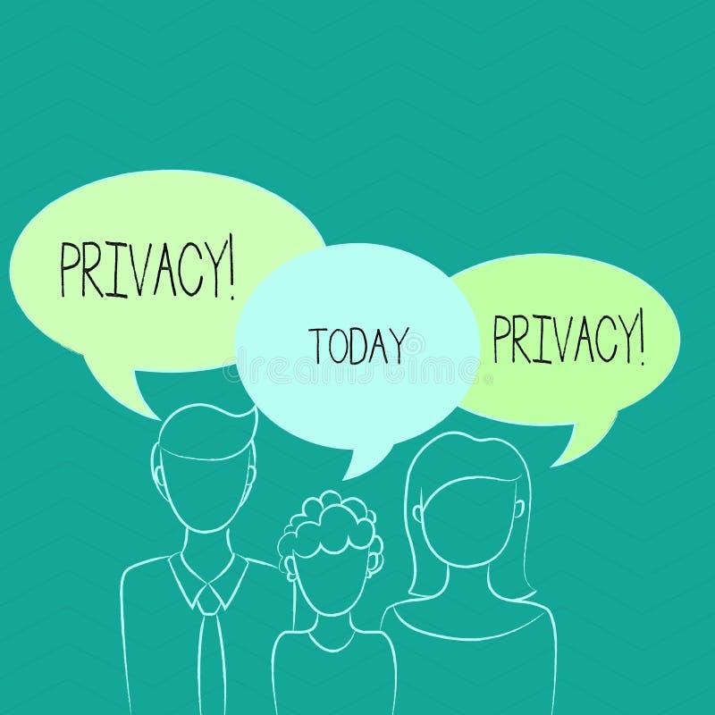 Ιδιωτικότητα κειμένων γραψίματος λέξης Επιχειρησιακή έννοια για το δικαίωμα να κρατηθούν τα demonstratingal θέματα και οι πληροφο ελεύθερη απεικόνιση δικαιώματος
