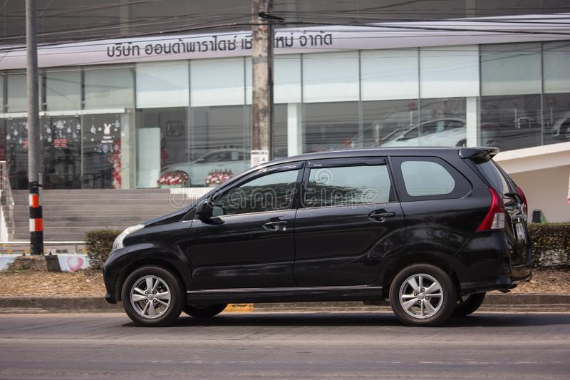 Ιδιωτικό αυτοκίνητο της Toyota Avanza στοκ φωτογραφίες