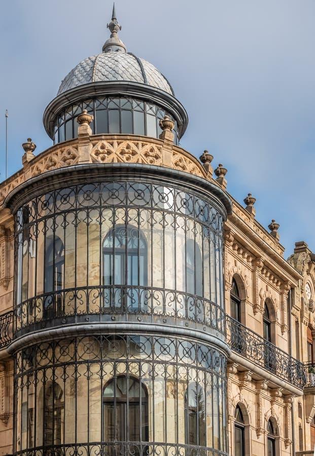 Κέντρο πόλεων Σαλαμάνκας, Καστίλλη-Leon, Ισπανία στοκ εικόνα με δικαίωμα ελεύθερης χρήσης