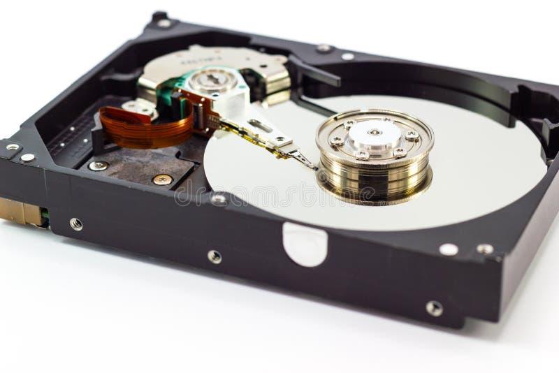 Κίνηση σκληρών δίσκων για την τεχνολογία HDD αποθήκευσης στοιχείων υπολογιστών στοκ φωτογραφία με δικαίωμα ελεύθερης χρήσης