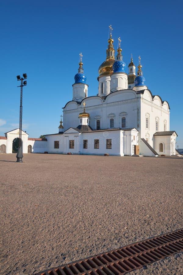Καθεδρικός ναός Sophia-υπόθεσης του ST Κρεμλίνο tobolsk Tobolsk Tyumen Oblast Ρωσία στοκ εικόνες