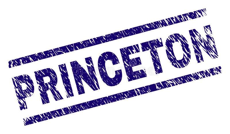 Κατασκευασμένη PRINCETON σφραγίδα γραμματοσήμων Grunge απεικόνιση αποθεμάτων