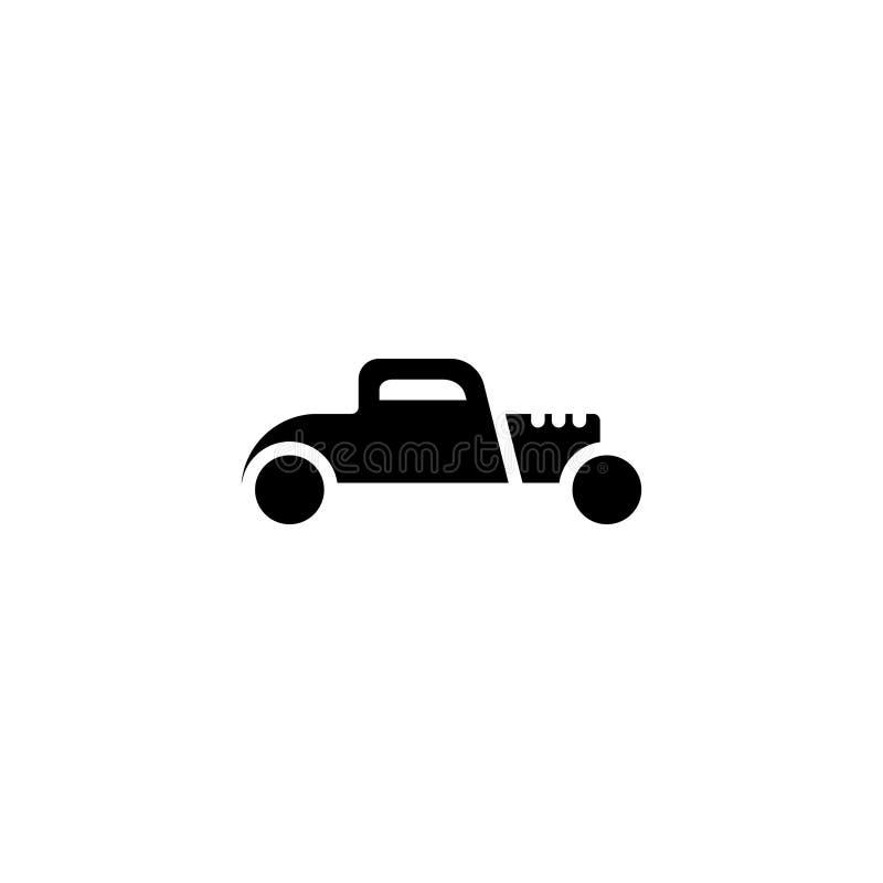 Καυτό στερεό εικονιδίων ράβδων απόθεμα εικονιδίων οχημάτων και μεταφορών ελεύθερη απεικόνιση δικαιώματος