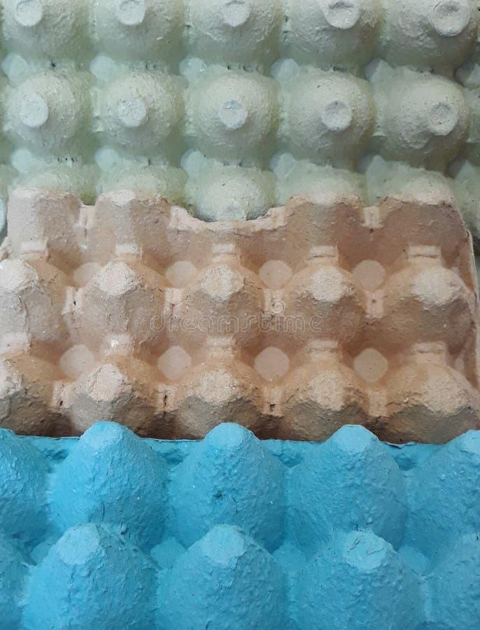 κενά χαρτοκιβώτια αυγών στοκ φωτογραφία