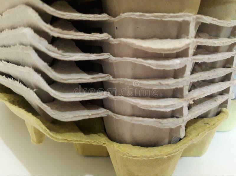 κενά χαρτοκιβώτια αυγών στοκ φωτογραφία με δικαίωμα ελεύθερης χρήσης