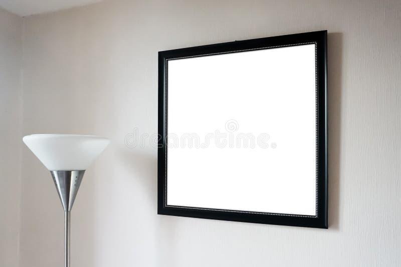 Κενή χλεύη φωτογραφιών πλαισίων επάνω στοκ φωτογραφίες