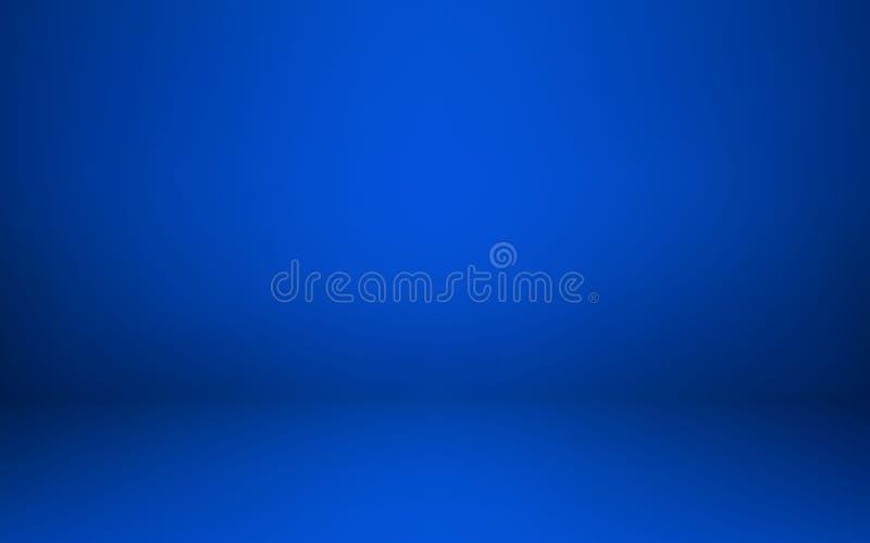 Κενό μπλε εσωτερικό δωματίων στούντιο Καθαρό εργαστήριο για τη φωτογραφία ή την παρουσίαση επίσης corel σύρετε το διάνυσμα απεικό διανυσματική απεικόνιση