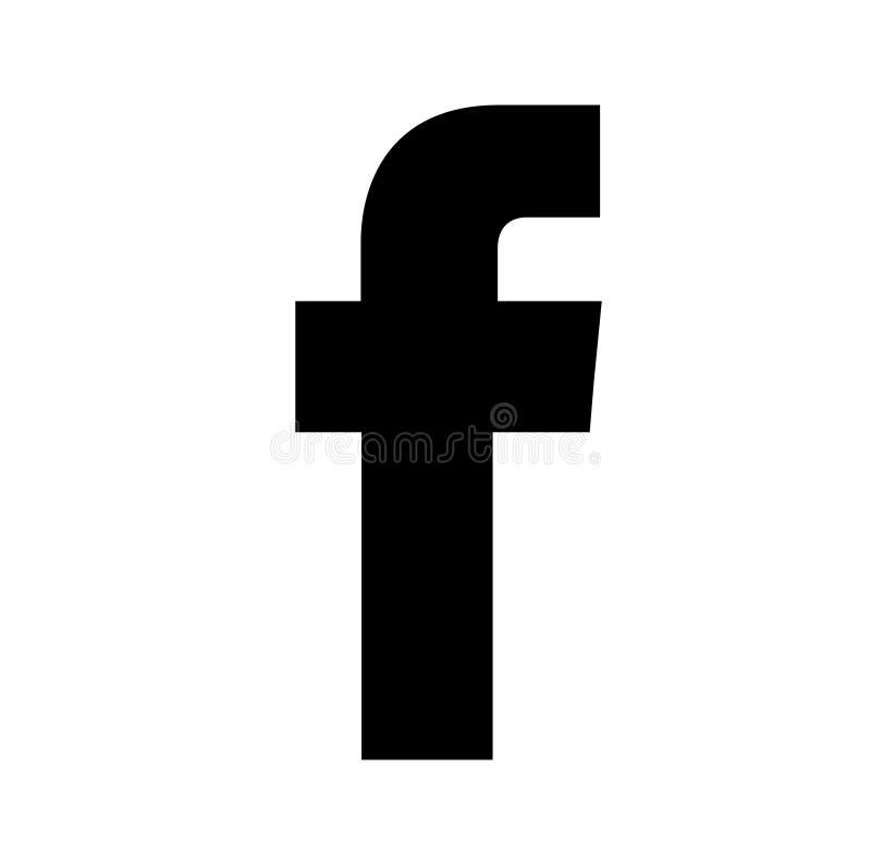 Κοινωνικό λογότυπο μέσων Facebook διανυσματική απεικόνιση
