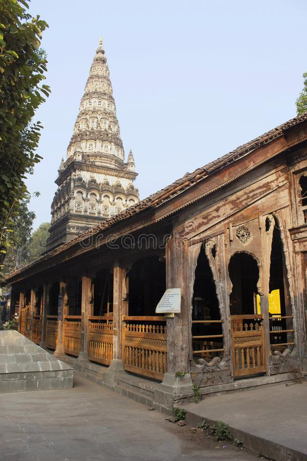Κριός Bagh Tulsi mandir, Pune, Maharashtra, Ινδία στοκ εικόνα