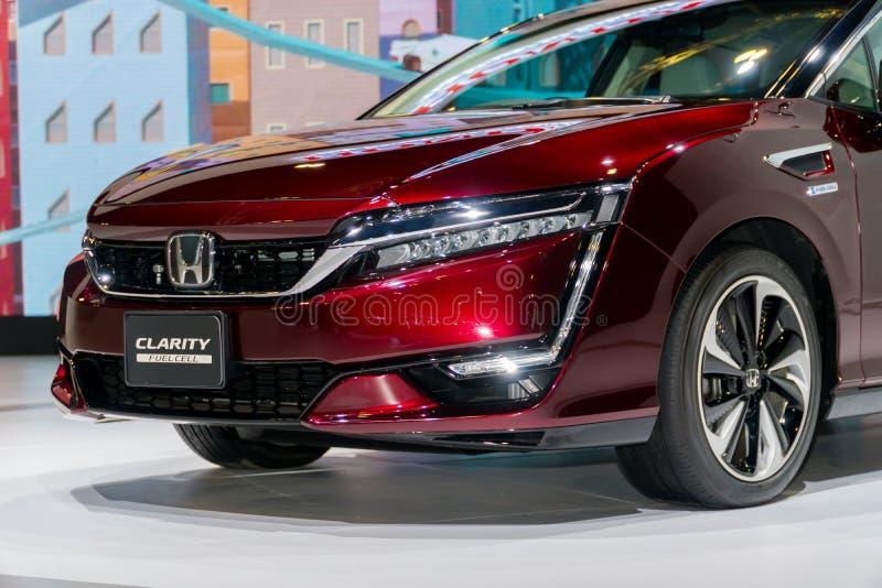 Κύτταρο καυσίμου σαφήνειας της Honda στη έκθεση αυτοκινήτου της Κουάλα Λουμπούρ στοκ φωτογραφίες