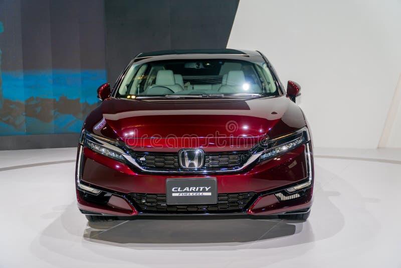 Κύτταρο καυσίμου σαφήνειας της Honda στη έκθεση αυτοκινήτου της Κουάλα Λουμπούρ στοκ εικόνες