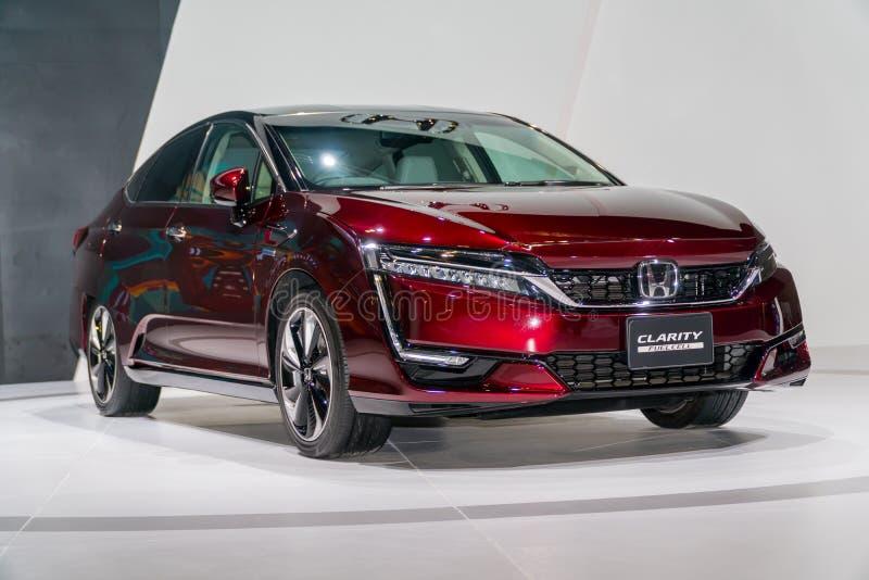 Κύτταρο καυσίμου σαφήνειας της Honda στη έκθεση αυτοκινήτου της Κουάλα Λουμπούρ στοκ εικόνα