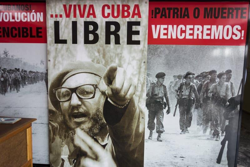 Κόλπος του Φιντέλ Κάστρου των κουβανικών εικόνων Playa Giron Κούβα μάχης επαναστάσεων χοίρων στοκ εικόνα
