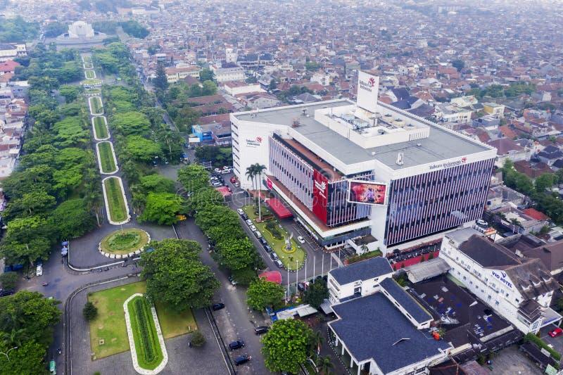 Κτήριο της Ινδονησίας Telkom στην πόλη Bandung στοκ εικόνες με δικαίωμα ελεύθερης χρήσης