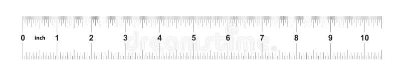 Κυβερνήτης 10 ίντσες αυτοκρατορικός Κυβερνήτης 160 ίντσες μετρικός Ακριβές μετρώντας εργαλείο Πλέγμα βαθμολόγησης ελεύθερη απεικόνιση δικαιώματος