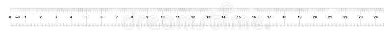 Κυβερνήτης 24 ίντσες αυτοκρατορικός Κυβερνήτης 160 ίντσες μετρικός Ακριβές μετρώντας εργαλείο Πλέγμα βαθμολόγησης απεικόνιση αποθεμάτων