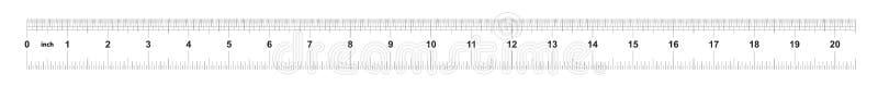 Κυβερνήτης 20 ίντσες αυτοκρατορικός Κυβερνήτης 160 ίντσες μετρικός Ακριβές μετρώντας εργαλείο Πλέγμα βαθμολόγησης απεικόνιση αποθεμάτων