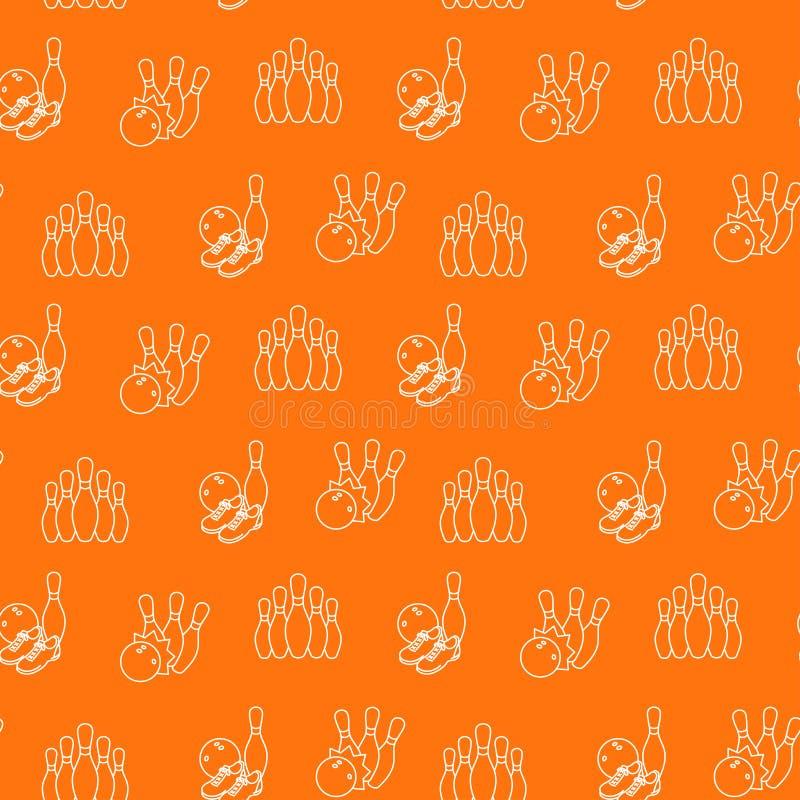 Κυλώντας άνευ ραφής πορτοκαλί υπόβαθρο σχεδίων επίσης corel σύρετε το διάνυσμα απεικόνισης στοκ φωτογραφία με δικαίωμα ελεύθερης χρήσης