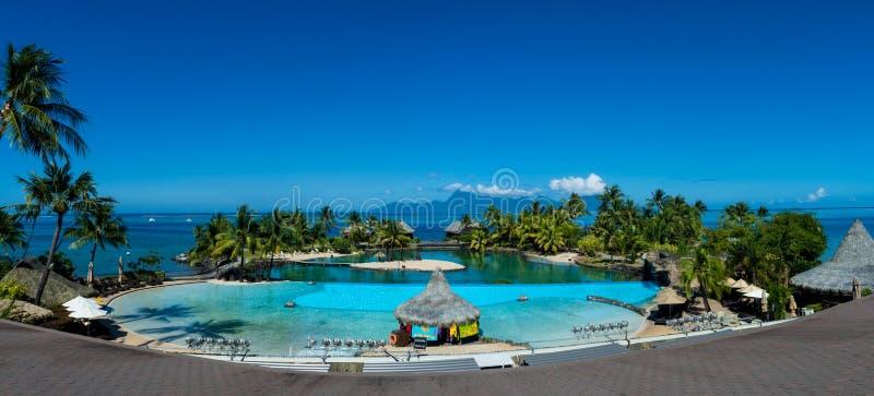 Λίμνη απείρου στην Ταϊτή στοκ φωτογραφία με δικαίωμα ελεύθερης χρήσης