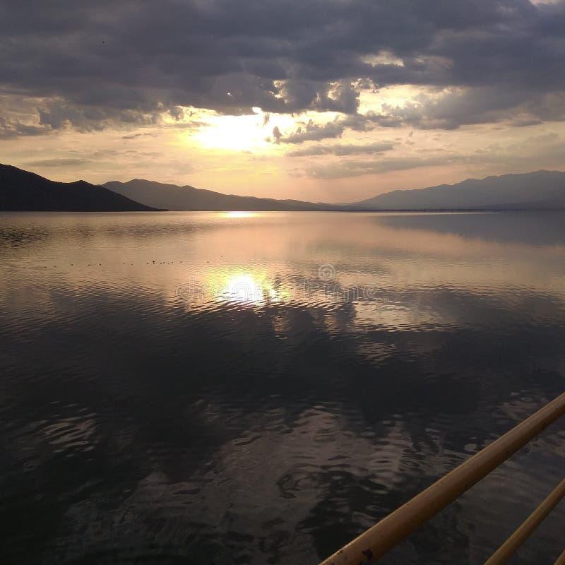 Λίμνη Kerkini στοκ εικόνα