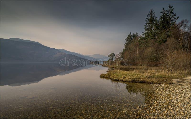 Λίμνη lomond-Σκωτία στοκ εικόνες
