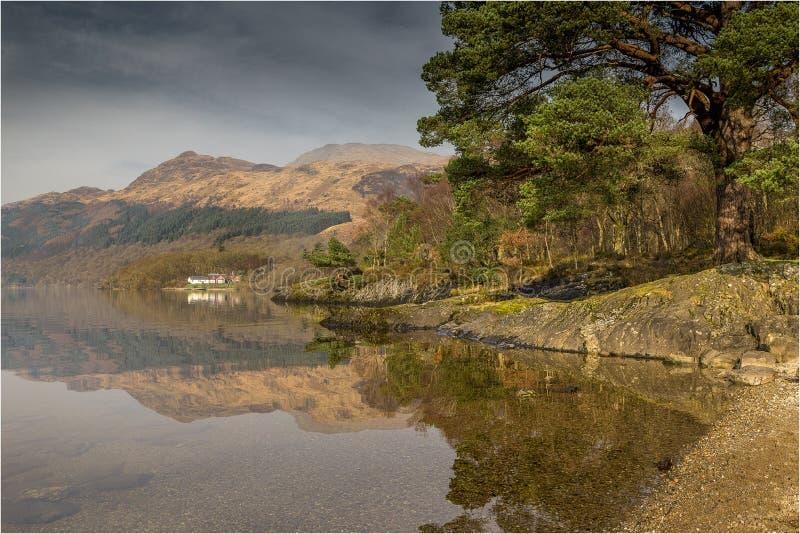 Λίμνη lomond-Σκωτία στοκ φωτογραφίες