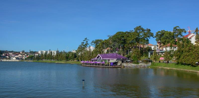 Λίμνη Xuan Huong σε Dalat, Βιετνάμ στοκ εικόνες