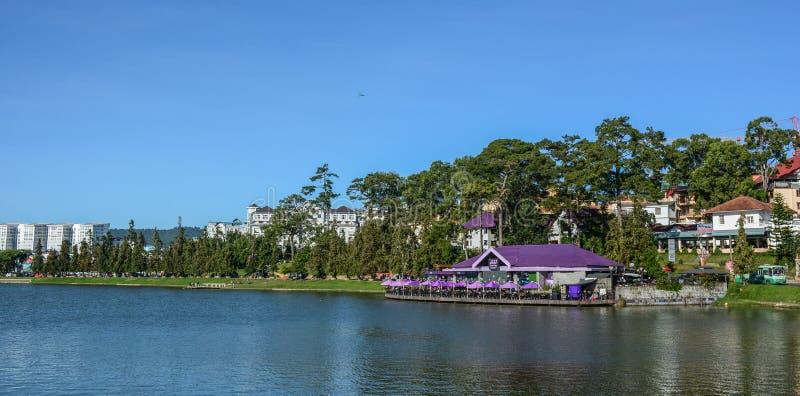 Λίμνη Xuan Huong σε Dalat, Βιετνάμ στοκ φωτογραφία με δικαίωμα ελεύθερης χρήσης