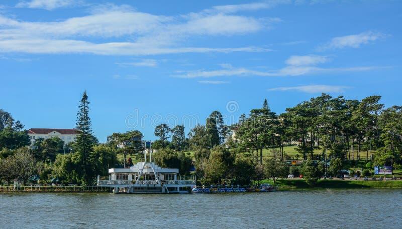 Λίμνη Xuan Huong σε Dalat, Βιετνάμ στοκ φωτογραφία