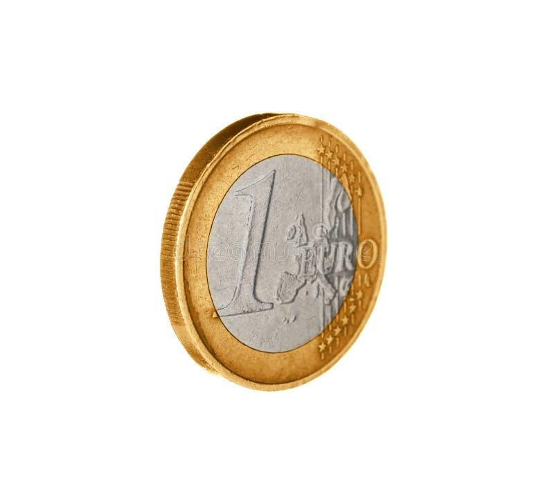 Λαμπρός ευρο- νόμισμα στοκ εικόνα