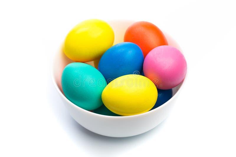λευκό αυγών Πάσχας κύπελλων στοκ εικόνα