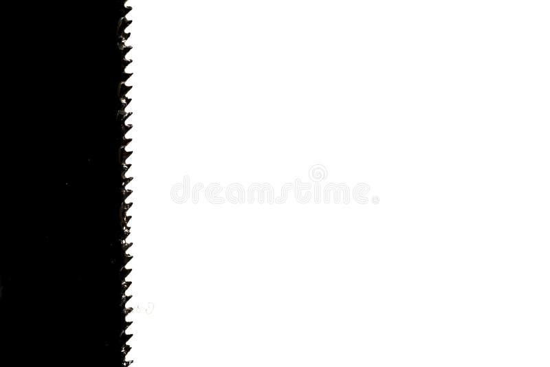 Λεπίδα hacksaw - κλείστε επάνω στοκ εικόνες