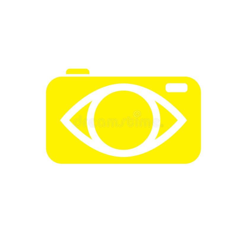Λογότυπα καμερών ελεύθερη απεικόνιση δικαιώματος