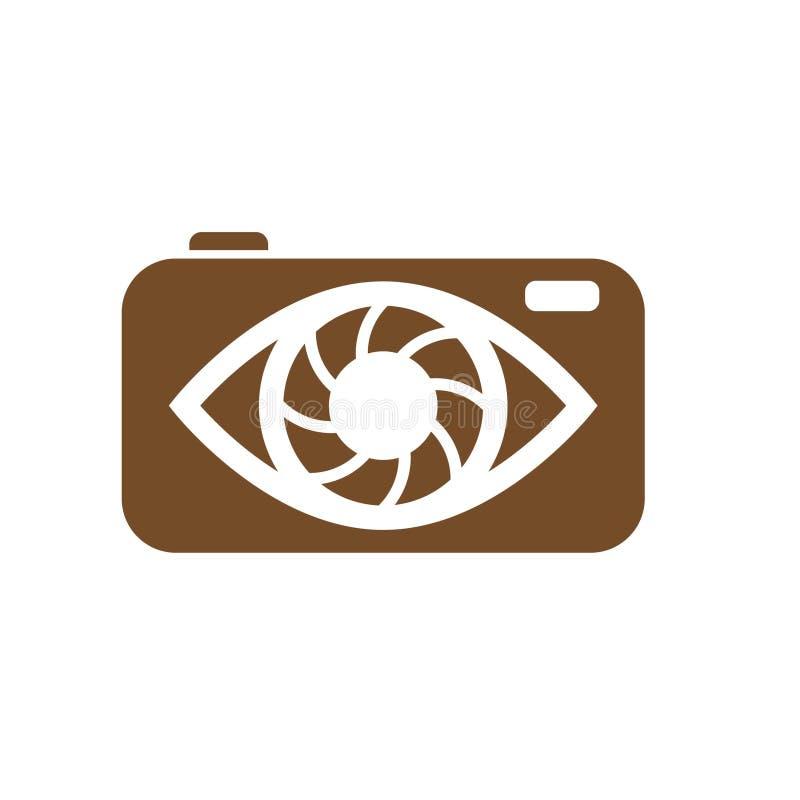 Λογότυπα καμερών απεικόνιση αποθεμάτων