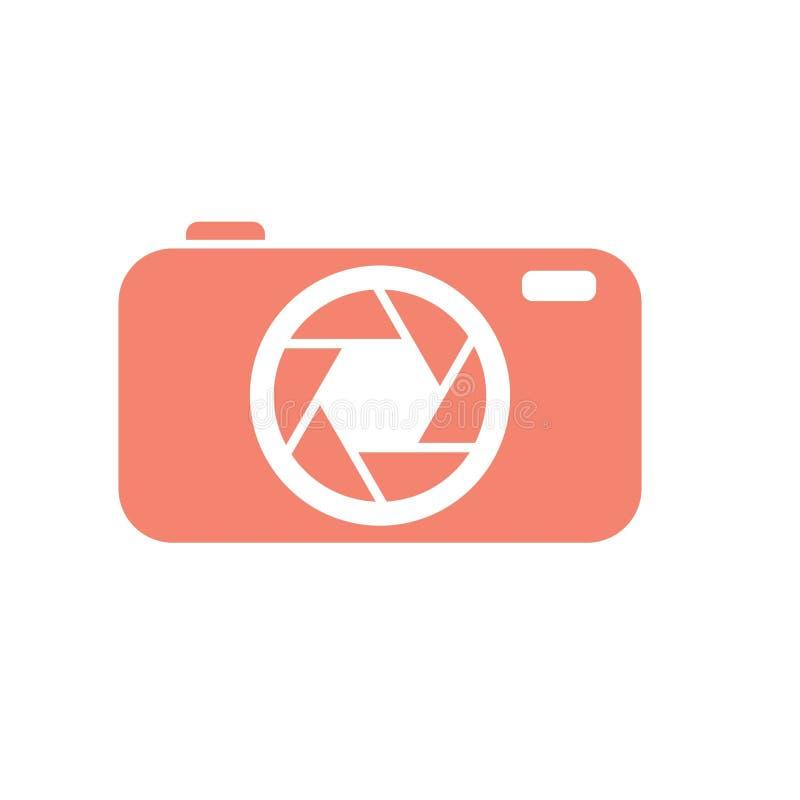 Λογότυπο καμερών απεικόνιση αποθεμάτων
