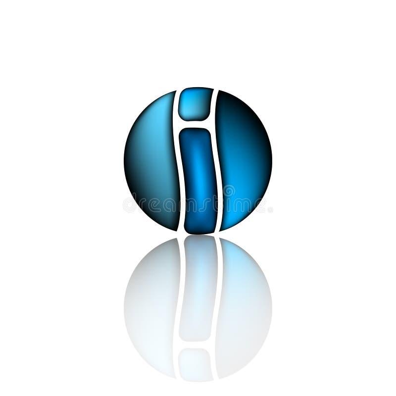 Λογότυπο σχεδίου ιδέας της επιχείρησης στο τελευταίο ι Τεχνολογία, πρότυπο σχεδίου επιχειρησιακών αφηρημένο λογότυπων Μοριακός, ν ελεύθερη απεικόνιση δικαιώματος
