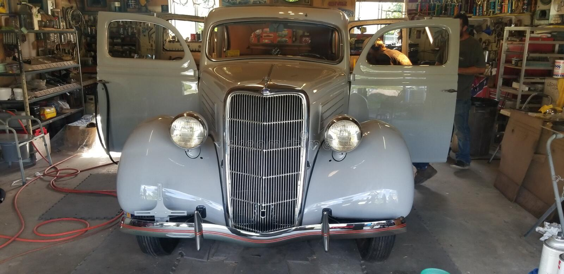 λ 1935 Ford coupe στοκ φωτογραφίες με δικαίωμα ελεύθερης χρήσης