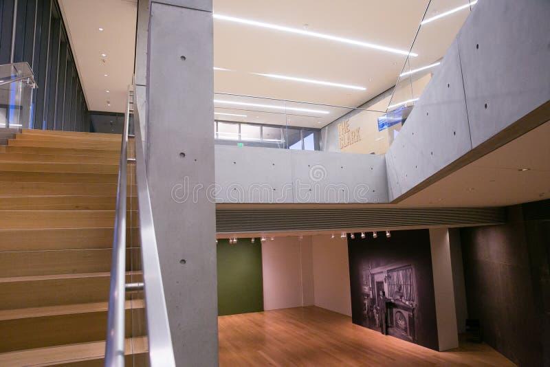 Μέσα στο ίδρυμα τέχνης του Clark σε Williamstown Μασαχουσέτη στοκ φωτογραφίες με δικαίωμα ελεύθερης χρήσης