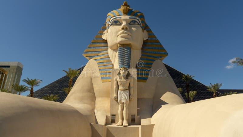 3 Μαρτίου 2019 - Λας Βέγκας, θέρετρο της Νεβάδας - Luxor και χαρτοπαικτική λέσχη στοκ φωτογραφίες