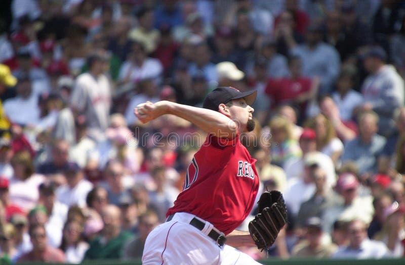 Ματ επιεικής, Boston Red Sox στοκ φωτογραφία με δικαίωμα ελεύθερης χρήσης