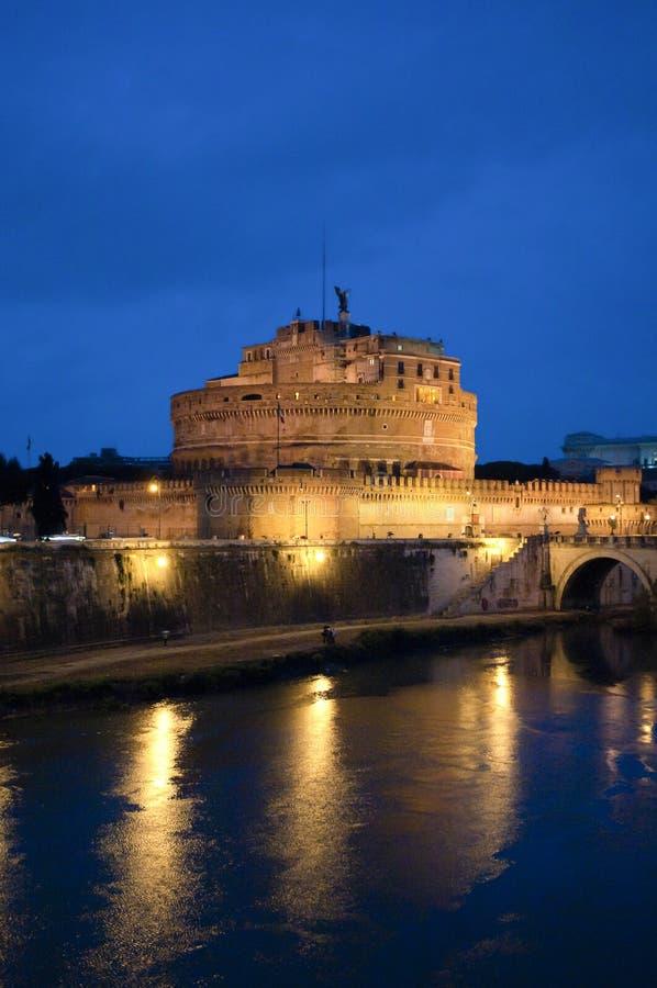 Μαυσωλείο του Αδριανού στη Ρώμη, Ιταλία στοκ εικόνα