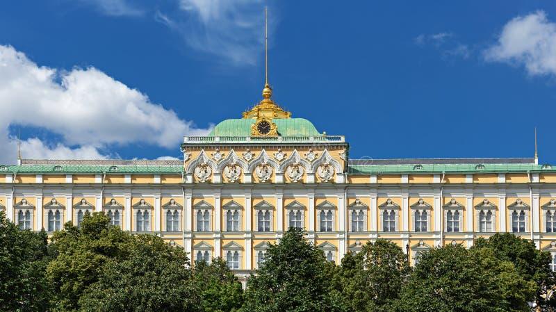 Μεγάλο παλάτι του Κρεμλίνου στο Κρεμλίνο, Μόσχα στοκ φωτογραφία με δικαίωμα ελεύθερης χρήσης