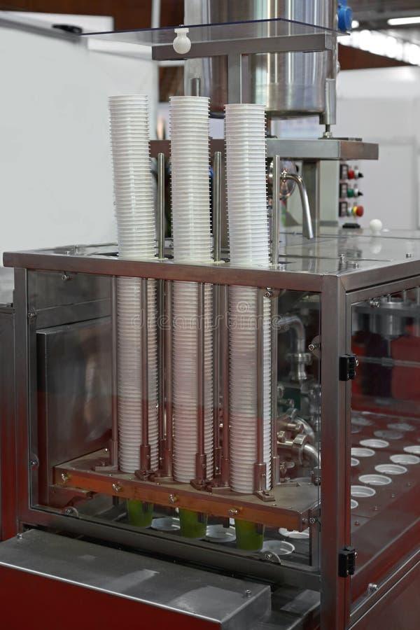 Μηχανή συσκευασίας στοκ φωτογραφία