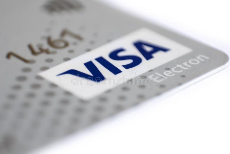 Μια γκρίζα πλαστική κάρτα ηλεκτρονίων ΘΕΩΡΗΣΕΩΝ στοκ εικόνες