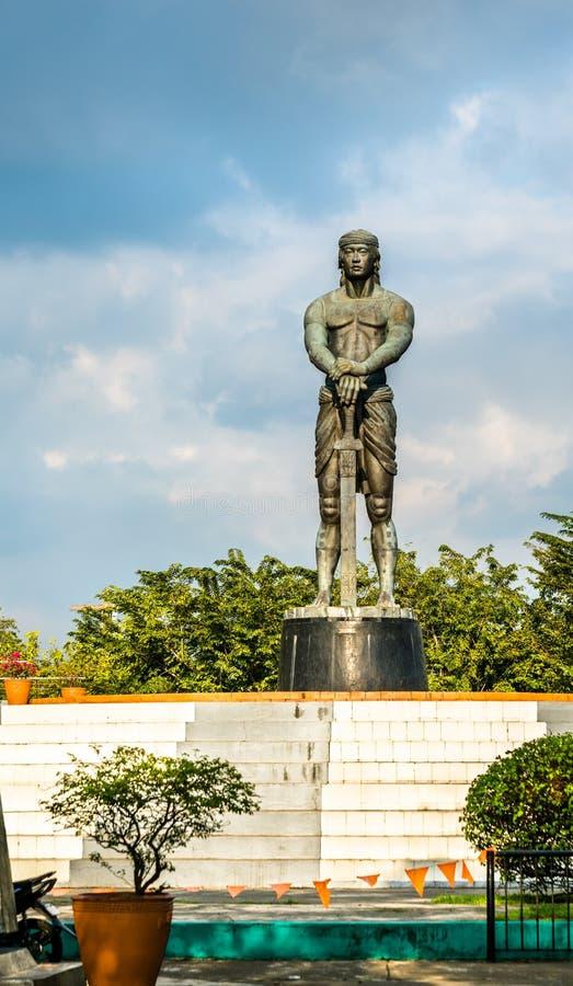Μνημείο lapu-Lapu στο πάρκο Rizal - Μανίλα, οι Φιλιππίνες στοκ εικόνα με δικαίωμα ελεύθερης χρήσης