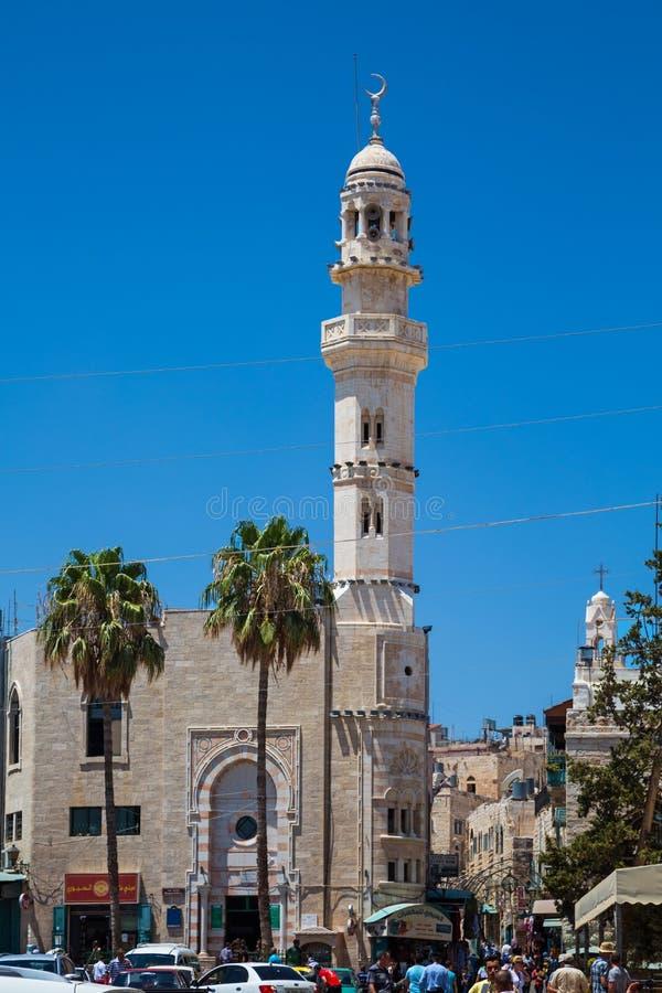 Μουσουλμανικός ναός μουσουλμανικών τεμενών της Ιερουσαλήμ, Παλαιστίνη, Ισραήλ 14 Αυγούστου 2015 στην Ιερουσαλήμ στοκ φωτογραφίες με δικαίωμα ελεύθερης χρήσης