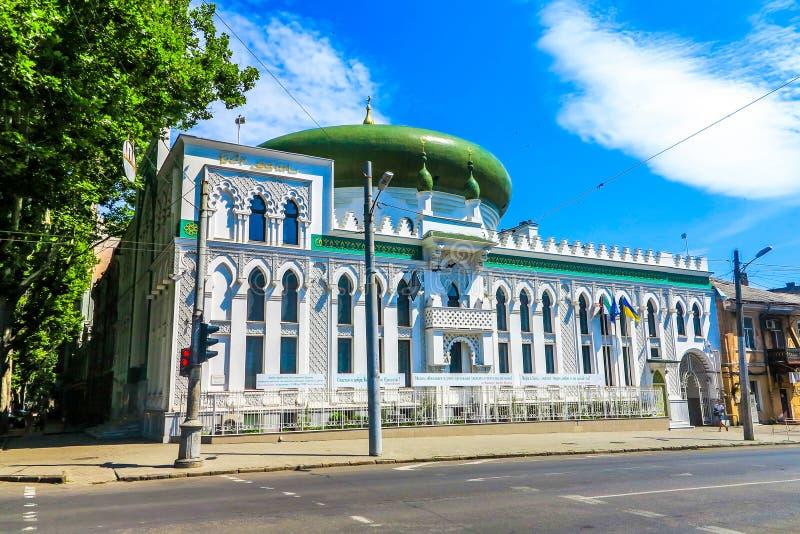 Μουσουλμανικό τέμενος της Οδησσός Salam στοκ εικόνα